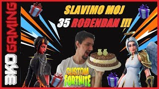 Celebrate my 35 birthday-Fortnite Customi-Giveaway Prizes: Mod, 2x 5 Eur + Games