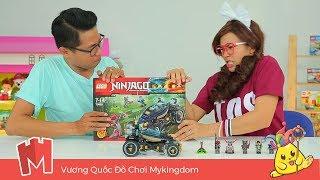 CHỊ LÍ LẮC #035 |Chị Lí Lắc Cùng Anh Lego Lắp Ráp Lego Ninjago