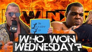 AEW Takes Ratings Lead! Jericho's Lexicon vs. Keith Lee's NXT Title Hopes! Who Won Wednesday?
