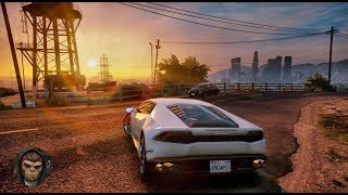 ► GTA 6 Graphics - Huracan! ✪ REDUX 1.2.1 - Gameplay! 2017 Realistic Graphics MOD 60FPS