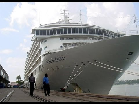 Another cruise ship docks in Mombasa despite travel advisory