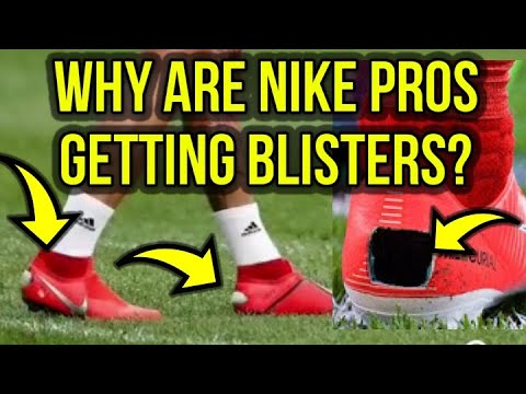 DO NIKE FOOTBALL BOOTS GIVE YOU BLISTERS? SERGIO RAMOS CUTS HOLES IN HIS BOOTS!