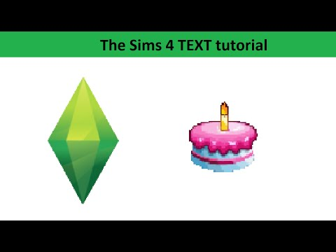 The Sims 4 Text Tutorial: Birthdays and Aging Up