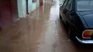 عاجل: الجزائر أمطار طوفانية و فياضانات تحدث خسائر مادية زمورة غليزان2014 !