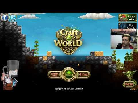 Craft the world - Live-Stream mit Bisu Zimt [German / Deutsch]