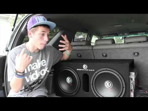 """Memphis 12"""" Subwoofers and Sony Bluetooth Stereo"""