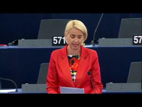 Angelika Mlinar 29 May 2018 plenary speech on victims of crimeyoutube.com