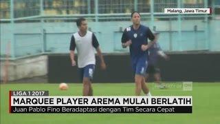 "Huan Pablo Fino , ""Marque Player"" Arema Mulai Berlatih"