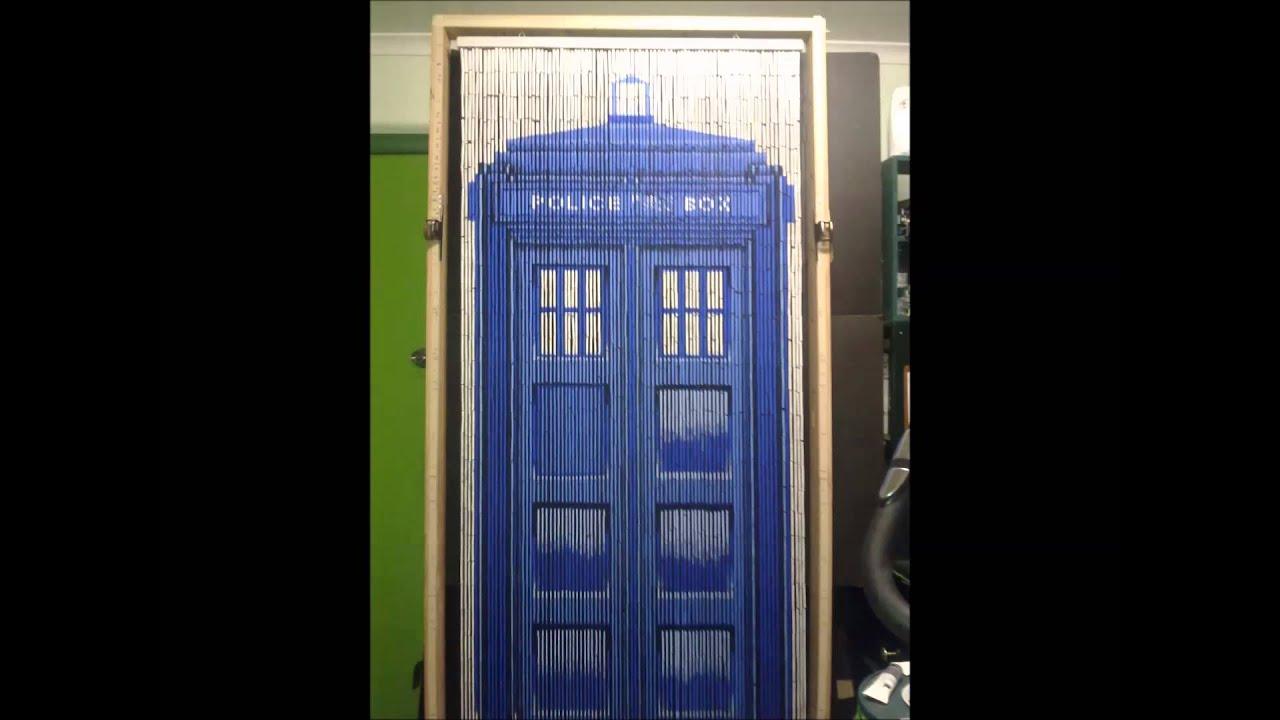 TARDIS BAMBOO CURTAIN YouTube