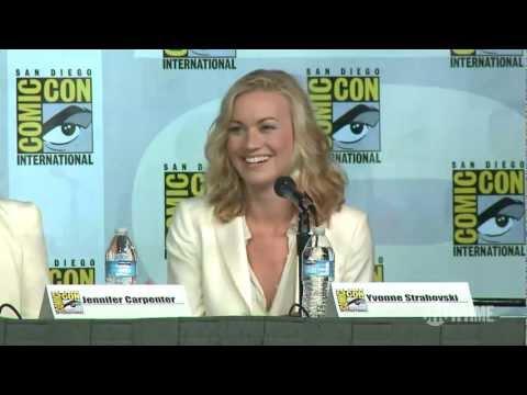 Dexter Comic-Con 2012 Panel: Yvonne Strahovski