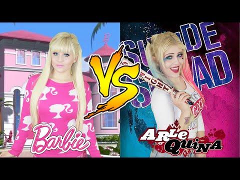 BARBIE VS ARLEQUINA (HARLEY QUINN)