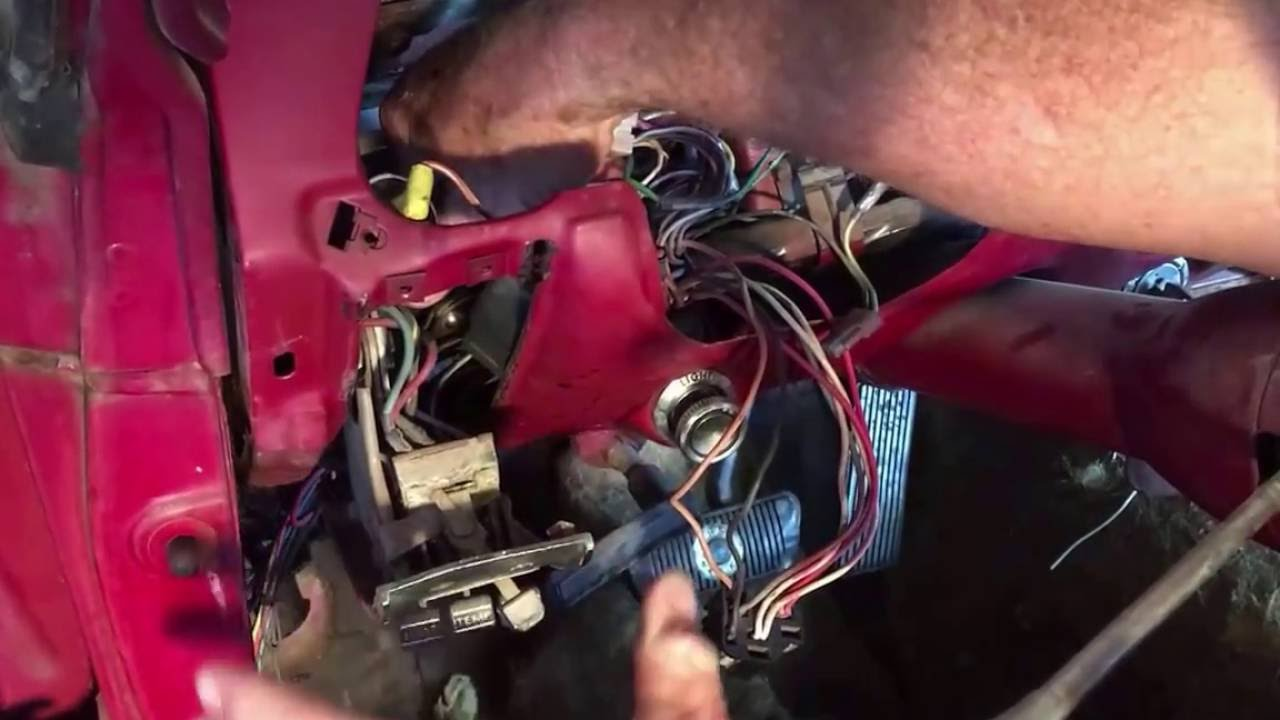 1967 Mustang Heater Control Panel Part I Youtube 66 Wiring