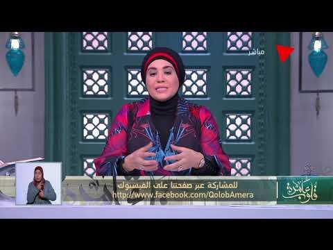 قلوب عامرة - د.نادية عمارة توضح حكم إعطاء المرأة زكاة مالها لزوجها