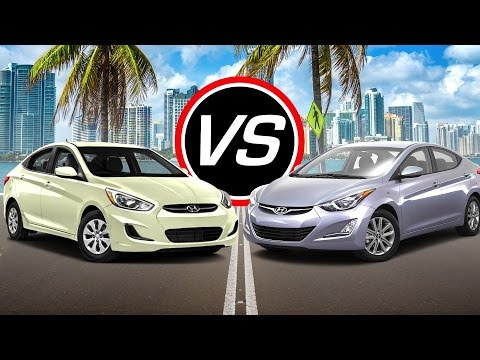 2016 Hyundai Accent SE vs 2016 Hyundai Elantra SE Spec Comparison