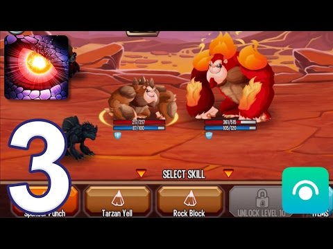 Monster Legends - Gameplay Walkthrough Part 3 - Adventure Map: Levels 6-10 (iOS, Android)