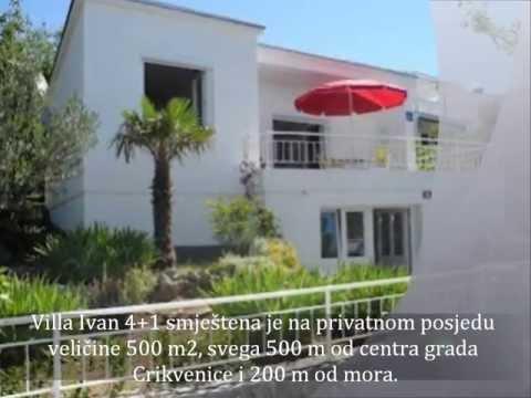 Crikvenica-Kvarner-Villa Ivan-Apartments-Private Accommodation-Holiday-Croatia
