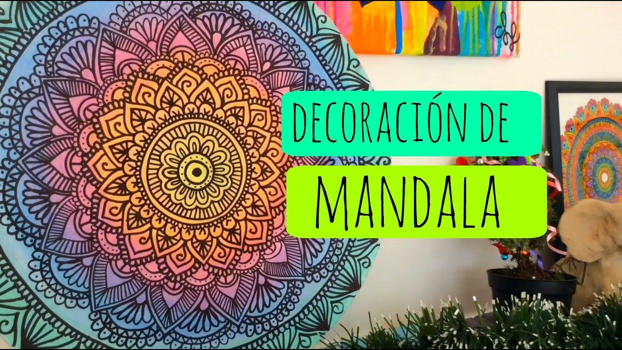 Mandalas para la pared diy zentangle art youtube for Mandalas de decoracion para pared