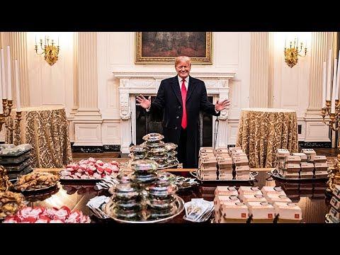 Internet Roasts Trump For His Fast Food Hillbilly Buffet