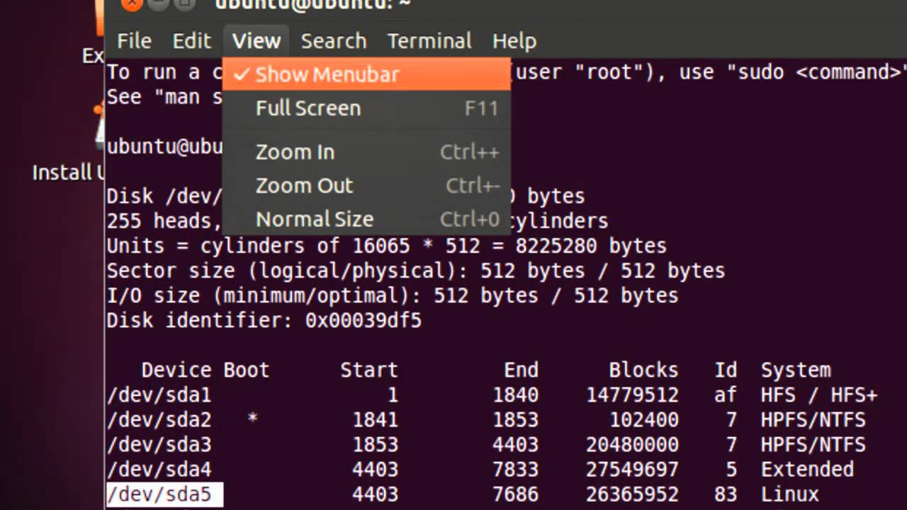 Recovering the GRUB 2 Boot Loader