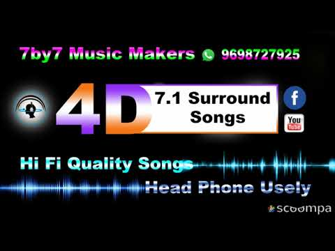 Nilave Nilave Sarigama High Quality 7 1 Surround 4D Songs