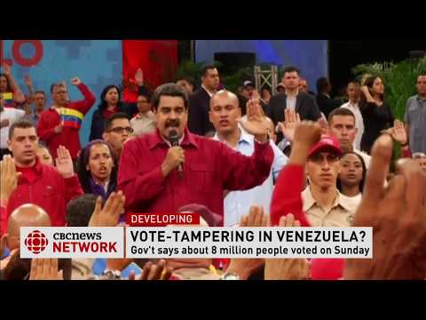 Live from Caracas for CBC
