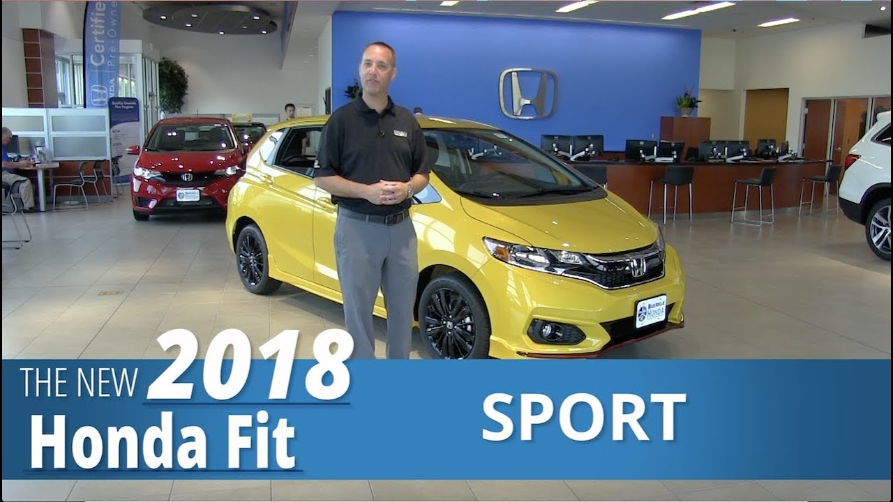Review new 2018 honda fit sport st paul white bear for Honda dealership burnsville mn