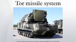 Tor missile system