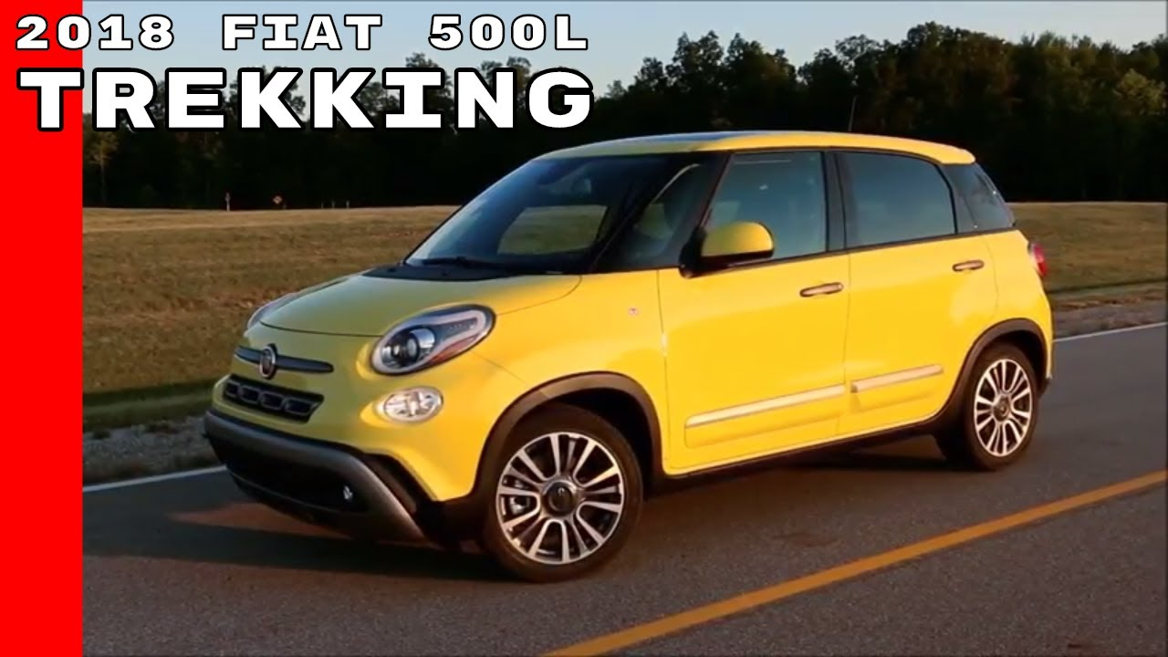2018 fiat 500l trekking youtube. Black Bedroom Furniture Sets. Home Design Ideas
