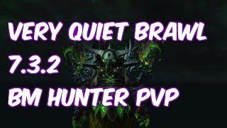 VERY QUIET BRAWL - 7.3.2 Beast Mastery Hunter PvP - WoW Legion