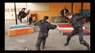 Exercices de Câblage 2ème partie / Stuntrigging Workshop part 2