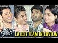 Sarileru Neekevvaru Latest Team Interview | Mahesh Babu | Rashmika Mandanna | Vijayashanthi | DSP