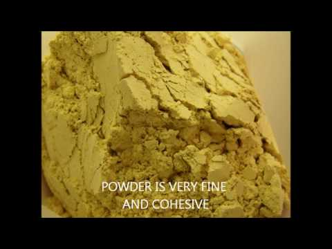 COHESIVE POWDER AGGLOMERATION