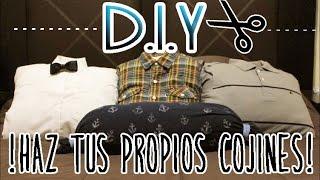 DIY: COJINES | RECICLA TUS PLAYERAS Thumbnail