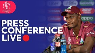 Post Match Press Conference West Indies Vs New Zealand   Icc Cricket World Cup 2019