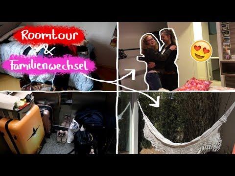 ROOMTOUR Familienwechsel Halloween Koffer packen Vlog  Auslandsjahr 201819 ♥︎ Leonie4ever