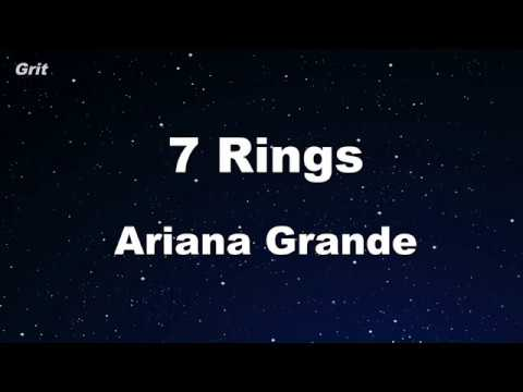 Download 7 rings - Ariana Grande Karaoke 【No Guide Melody】 Instrumental