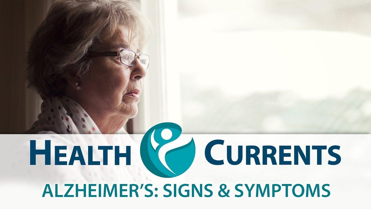 Alzheimer's: Signs & Symptoms