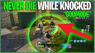 "*NEW* Fortnite ""NEVER DIE WHILE KNOCKED GLITCH"" 