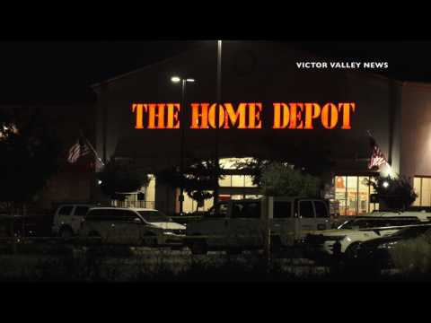 Murder Scene at Home Depot Still Active in Victorville