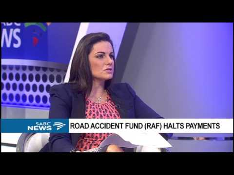 RAF's bank account attached, payouts frozen