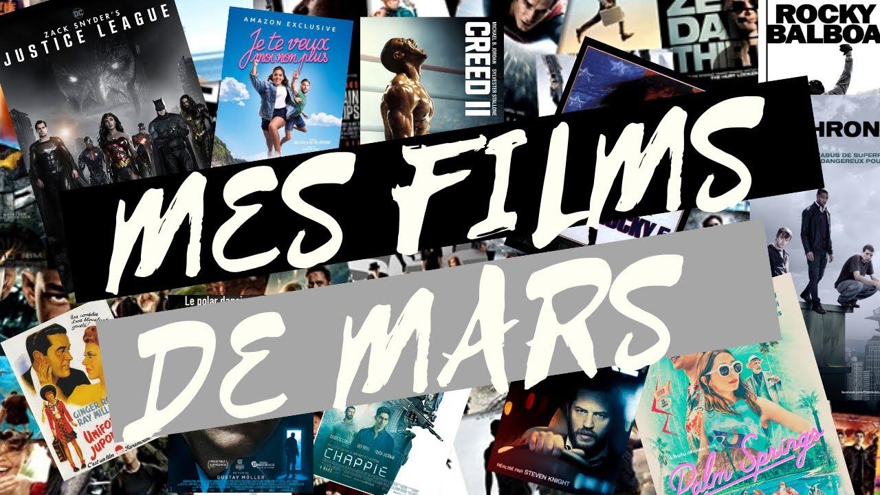 FILMS EN VRACS (ZACK SNYDER'S JUSTICE LEAGUE et AUTRES FILMS DE MARS)