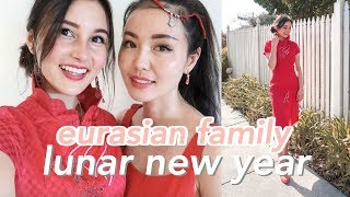 Celebrating the Lunar New Year with My Eurasian Family!