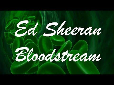 Ed Sheeran - Bloodstream (Lyrics)