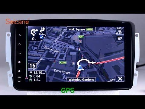 Android 8 0 2000-2005 Mercedes Benz C Class W203 C230 C240 Radio GPS  Navigation Head Unit
