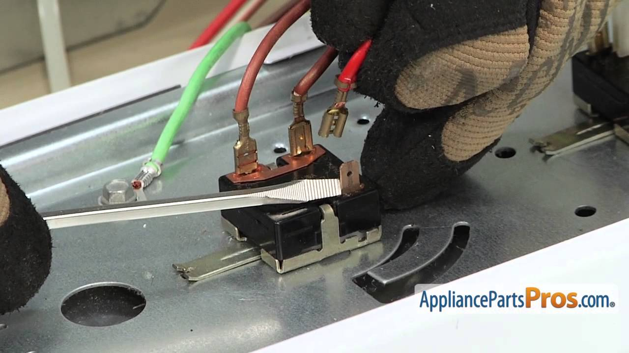 Dryer Rotary Start Switch (part #WE4M519) - How To Replace on