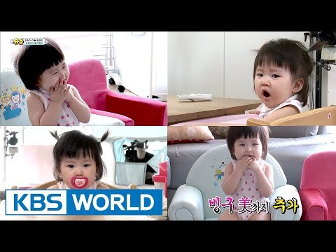 Introducing Kyungmin's adorable daughter Rawon! [The Return of Superman / 2017.08.20]
