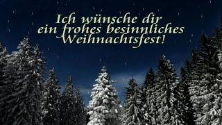 Ich wünsche dir frohe weihnachten und einen guten rutsch ins neue jahr!kostenlose weihnachtsgrüße zum versenden teilen für whatsapp, facebook, usw.video ...