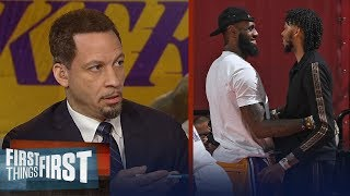 Chris Broussard agrees this is not a rebuilding year for the Lakers | NBA | FIRST THINGS FIRST