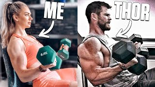 I Trained Like THOR For 7 Days.. (VERY HARD)