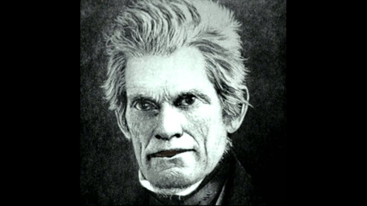 john c calhoun the other Though he has often been judged harshly, john c calhoun had a long, complex and accomplished political career, and was an effective us war secretary.